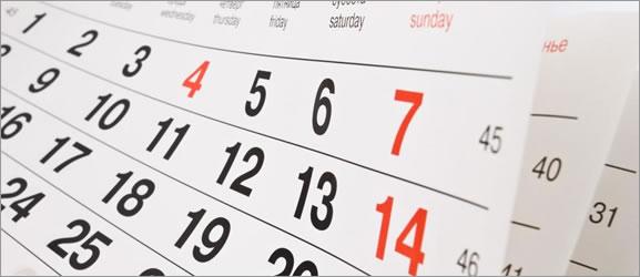 Calendario para seu site