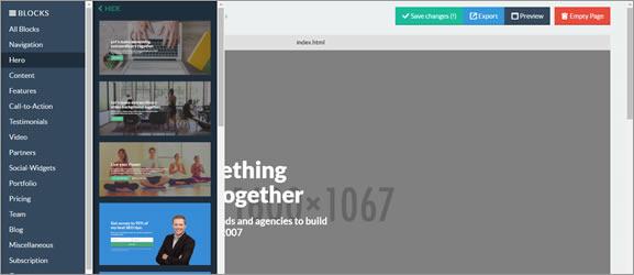 Criar Landing Pages grátis