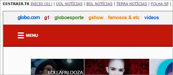 Vários Jornais em um único site