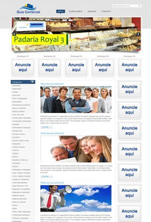 criar site de guia comercial