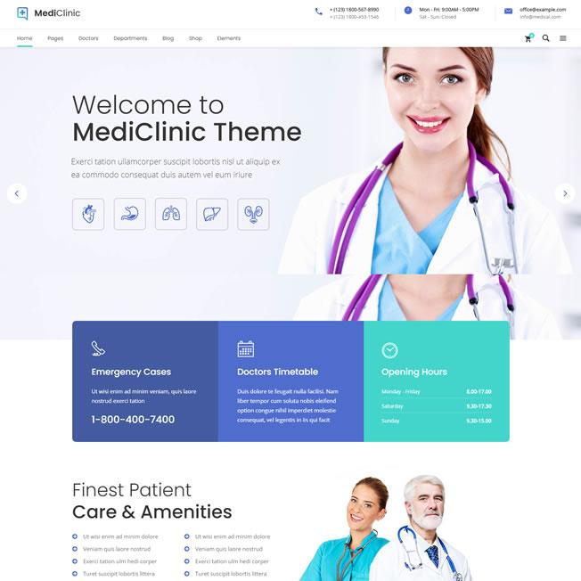 Tema WordPress Mediclinic